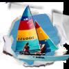 Sailboats on Panama City Beach