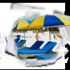 Chair and Umbrella Rentals on Panama City Beach